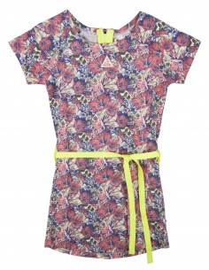 Rumbl!: jurk met korte mouw en bloemenprint