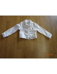 Ruba Cuori: wit spijkerjasje