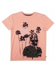 Rumbl!: T-shirt met ronde hals.