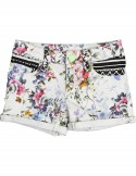Replay: meisjes shorts met bloemenprint