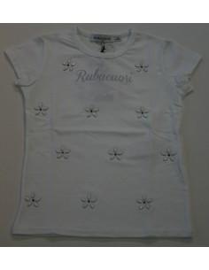 Ruba Cuori: t-shirt maglia bielastico bimba