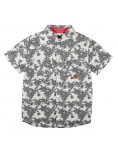 Rumbl!: Overhemd met knoopjes en bloemenprint