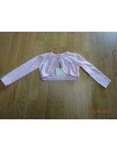 Ruba Cuori: roze bolero Coprispalle Tricotbimba