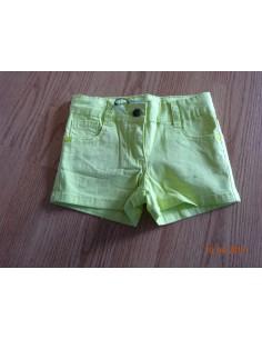 Ruba Cuori: korte broek lime