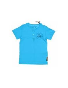 Replay: t-shirt Blauw met v-hals