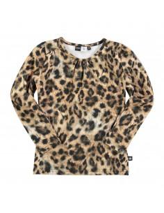 MOLO: RUTH Leopard fur