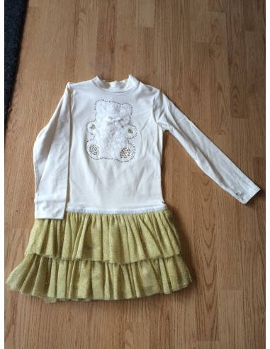 Ruba Cuori: BEAR glittertjes girls jurk