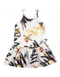 Molo: CAMILLA STREET BIRDS meisjes jurk