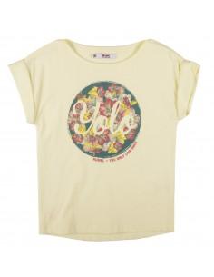 Rumbl!: geel t-shirt met korte mouw