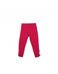 The Dutch Design Bakery: 3/4 legging in fuchsia met fijne accenten