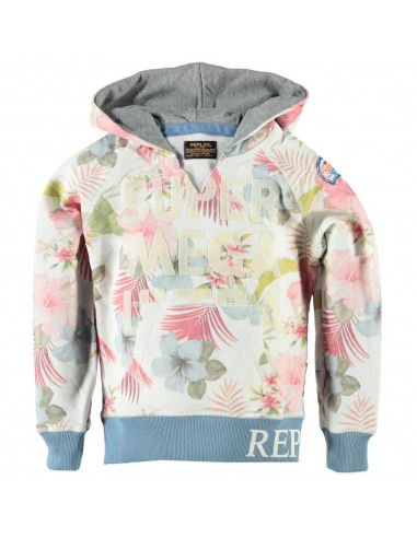 Replay: sweatshirt super mega met capuchon
